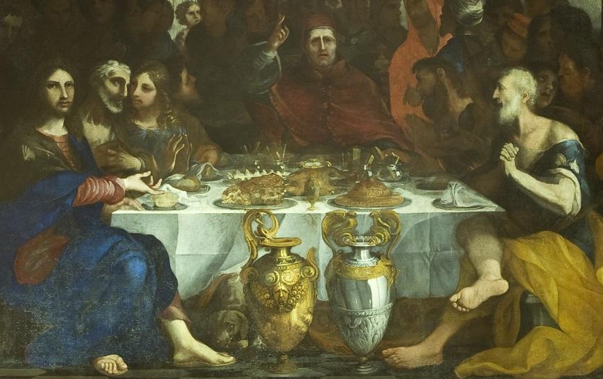Locandina A tavola al Museo! Itinerari nel gusto ai Musei nazionali di Lucca