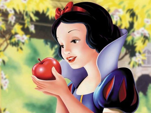 Locandina Biancaneve e i benefici di frutta e verdura