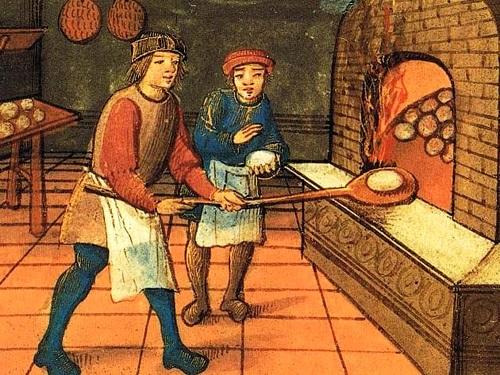 Locandina Il cibo del pellegrino